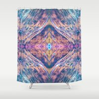 wizard Shower Curtains featuring WIZARD EYES by Michael Angelo Galasso