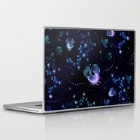 fireflies Laptop & iPad Skins featuring Fireflies by murals2go!