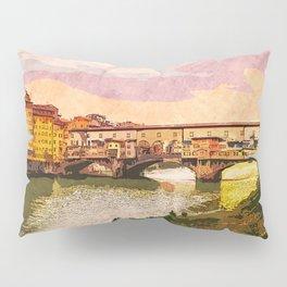 Florence, Ponte Vecchio Pillow Sham