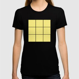 Yellow Squares and Dots T-shirt