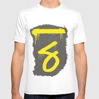 No. 7. Dead Man MEDIUM White Mens Fitted Tee