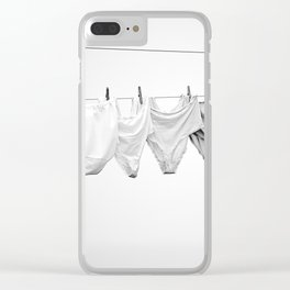 LAUNDRY DAY Clear iPhone Case