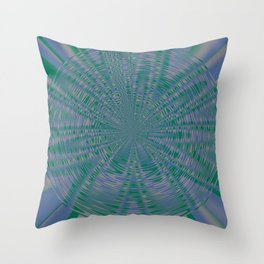 """RIVERSIDE and LUSH MEADOW """"VIBES"""" Throw Pillow"""