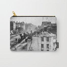 Boulevard du Temple Daguerreotype Carry-All Pouch