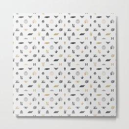 House of the Loyal - Pattern I Metal Print