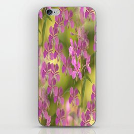 Rosebay Willowherb Flowers #decor #society6 iPhone Skin