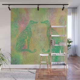 A Greyhound for All Seasons - Spring Wall Mural