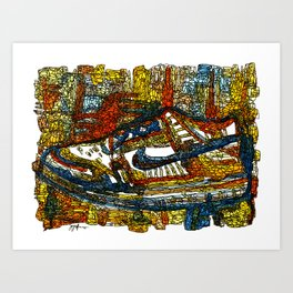 Kick It Art Print