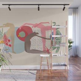 Rain Dance Wall Mural
