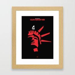 John Carpenter - Escape from New York Framed Art Print