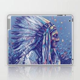 native american portrait-sitting bull Laptop & iPad Skin