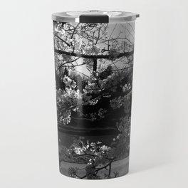 Athens, Ohio Sakura Trees Travel Mug