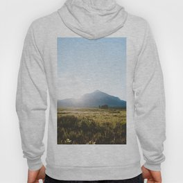 Sunrise Behind Mount Crested Butte Hoody