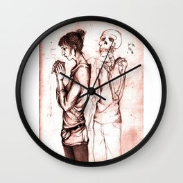 the death Wall Clock