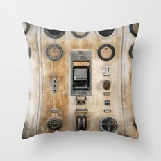 Captain Nemo Throw Pillow