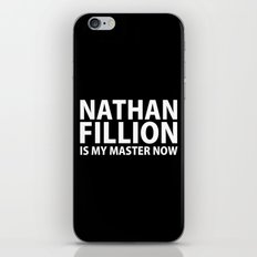 Nathan Fillion Is My Master Now iPhone & iPod Skin