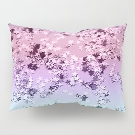 Unicorn Girls Glitter Stars #1 #shiny #pastel #decor #art #society6 Pillow Sham