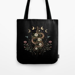 Serpent Spell Tote Bag