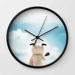 """""""Melodías de Arena"""" Wall Clock"""