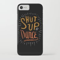 dance iPhone & iPod Cases featuring Dance by skitchism