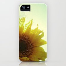 Sunflower Slim Case iPhone (5, 5s)