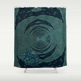 Watchful Eye Funnel 4 Shower Curtain