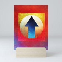 Arrow Composition Mini Art Print