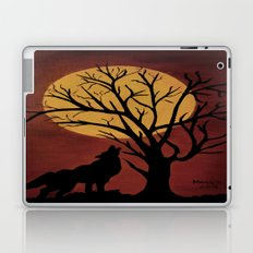 Full Moon/red Laptop & iPad Skin