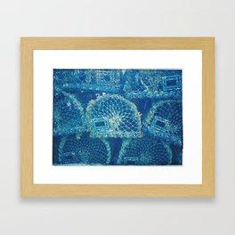 Fisherman's Blues Framed Art Print