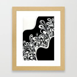 A Passel of Paisley Framed Art Print