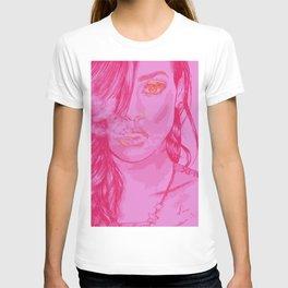 """Riri in Pink"" T-shirt"