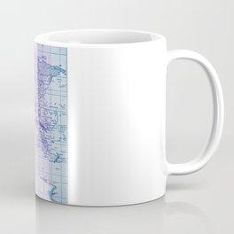 Rainbow World Map Coffee Mug