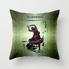 Quarantine Throw Pillow