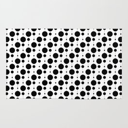 Black Pearls - Baby Stimulation Pattern Rug