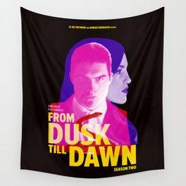 From Dusk Till Dawn II - Richie & Santanico Wall Tapestry