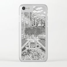 Frackpool 02 Clear iPhone Case