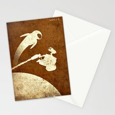Love between robots Stationery Cards