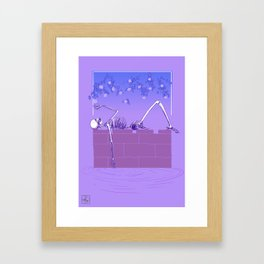 Gentle Macabre Framed Art Print