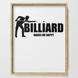 Billiard, snooker, sport Serving Tray