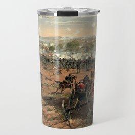 Civil War Battle of Gettysburg by Thure de Thulstrup (1887) Travel Mug