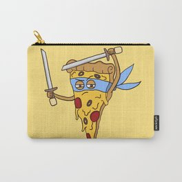 Blue Ninja Pizza Carry-All Pouch