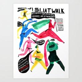 SlutWalk Art Print