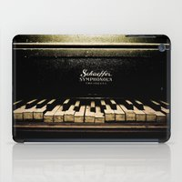 piano iPad Cases featuring Piano by eden frangipane