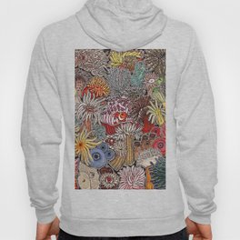Clown fish and Sea anemones Hoody