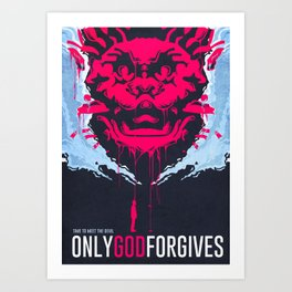 Only God Forgives poster Art Print