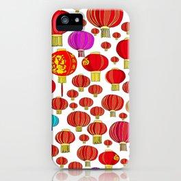 88 LANTERNS iPhone Case