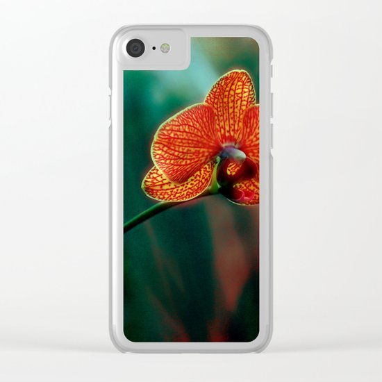 The mystery of orchid(10) Clear iPhone Case