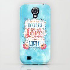 What is Done in Love Galaxy S4 Slim Case