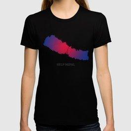 Help Nepal  T-shirt