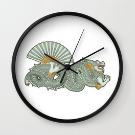 Barcelona dragon Wall Clock